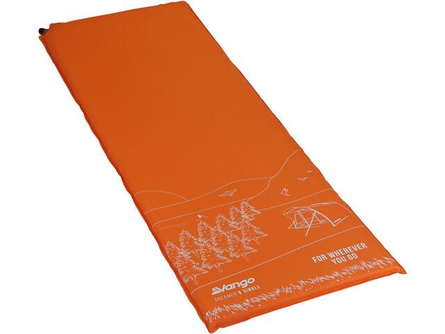 Vango Dreamer 5 Sleeping Mat Single, pomarańczowy